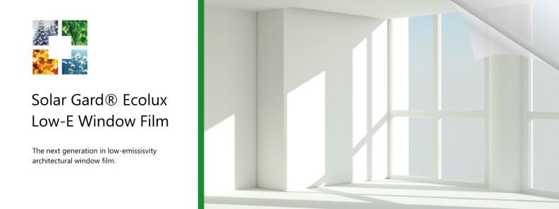 Ecolux Low-E Window Film