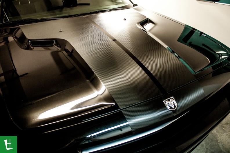 2010 Dodge Challenger 3m 1080 Carbon Fiber Hood