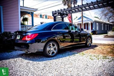 2014 Mercedes Benz CLA 250 Window Tinting (2)