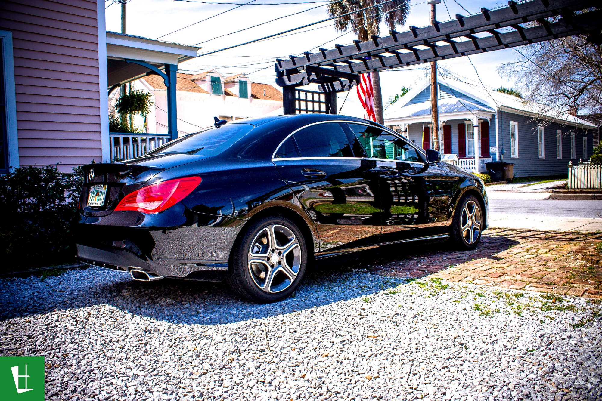 Glass Wrap 2014 Mercedes Benz Cla 250 Window Tinting