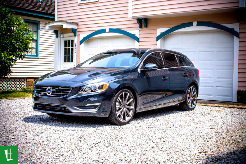 2015 Volvo V60 Wagon Window Tinting