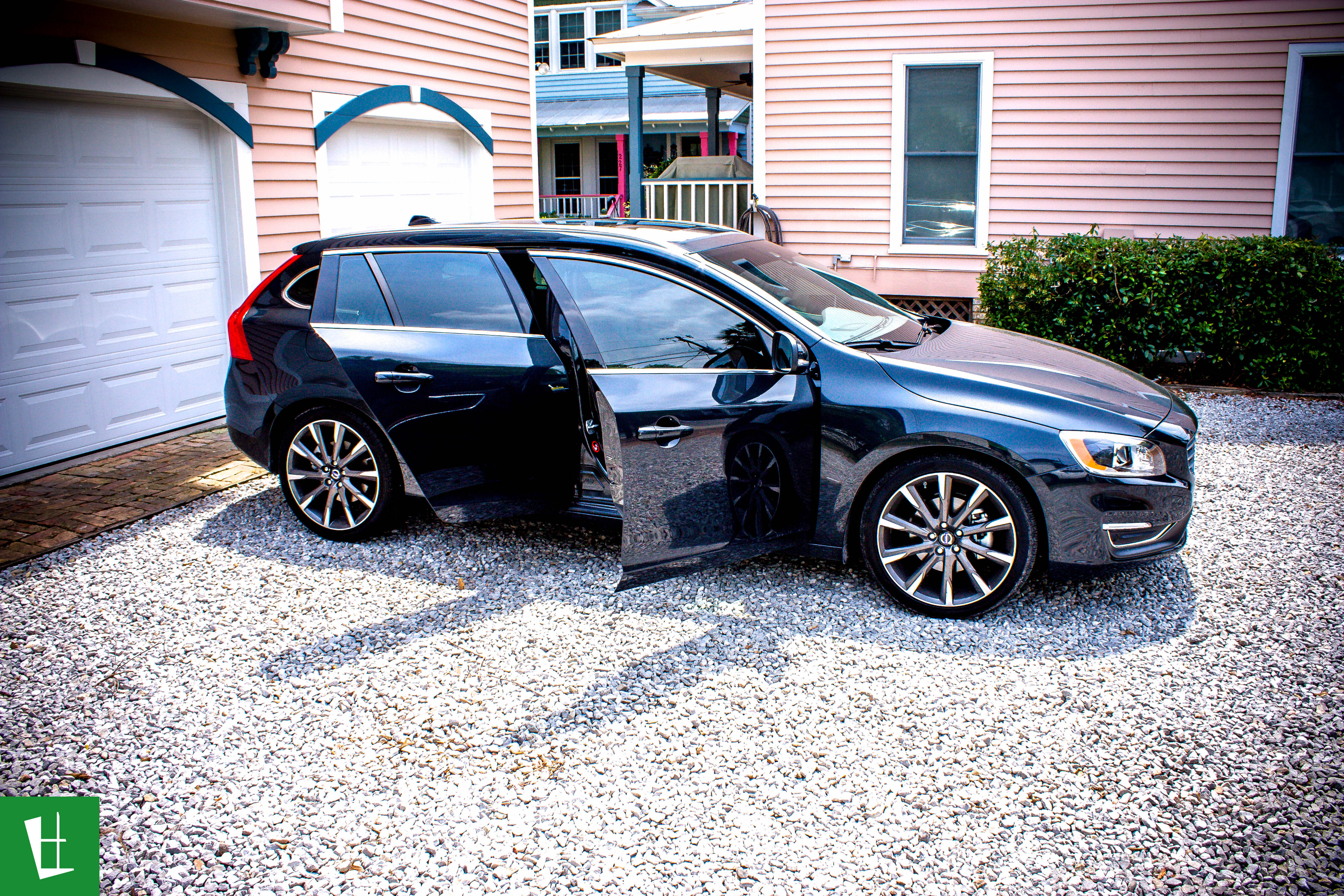 Glass Wrap 2015 Volvo V60 Window Tinting 7 Glass