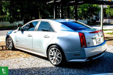 2009 Cadillac CTS-V Window Tinting (2)