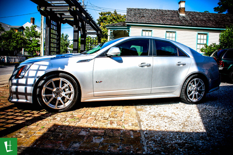 2009 Cadillac CTS-V Window Tinting