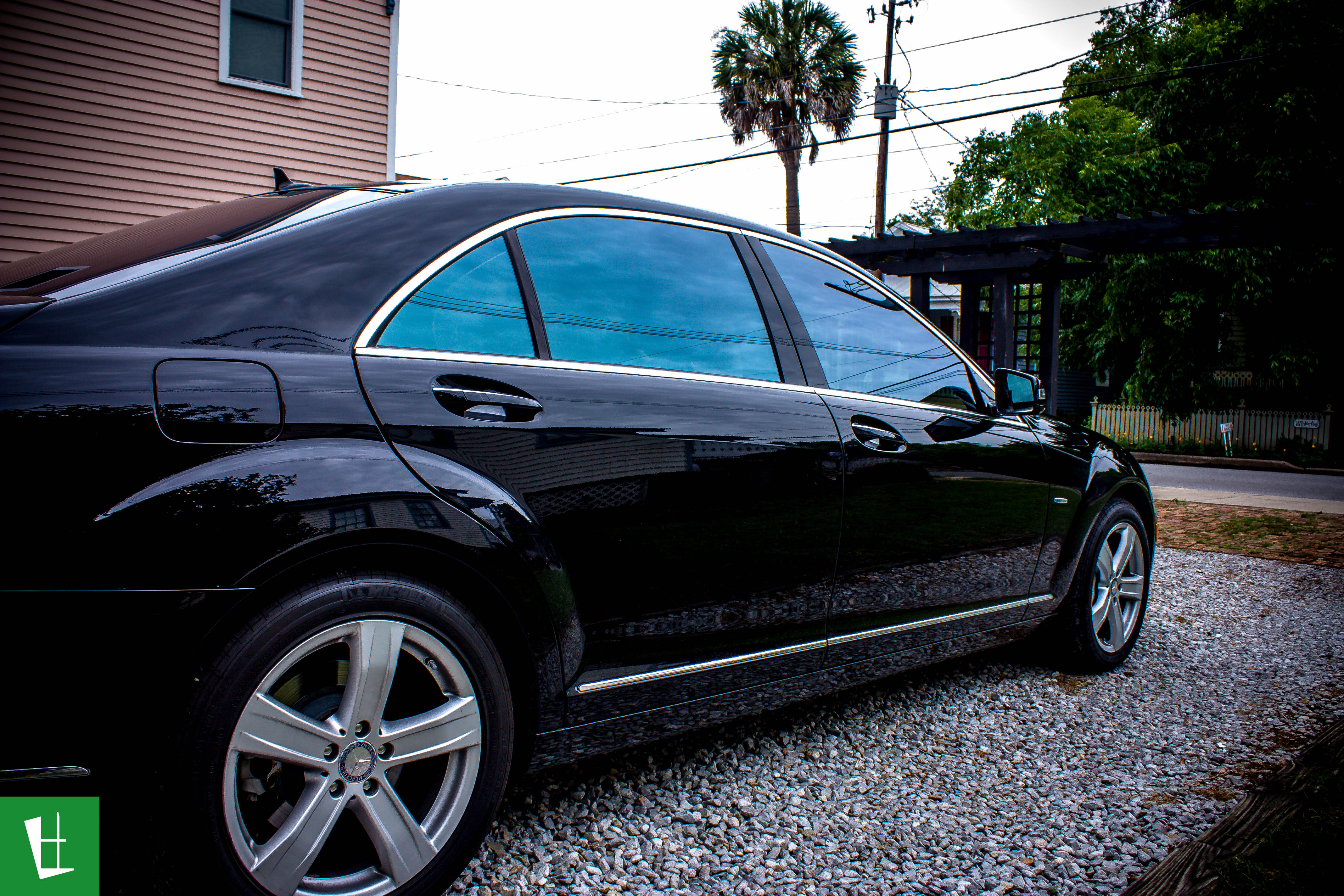 Glass Wrap 2012 Mercedes Benz S550 Window Tinting
