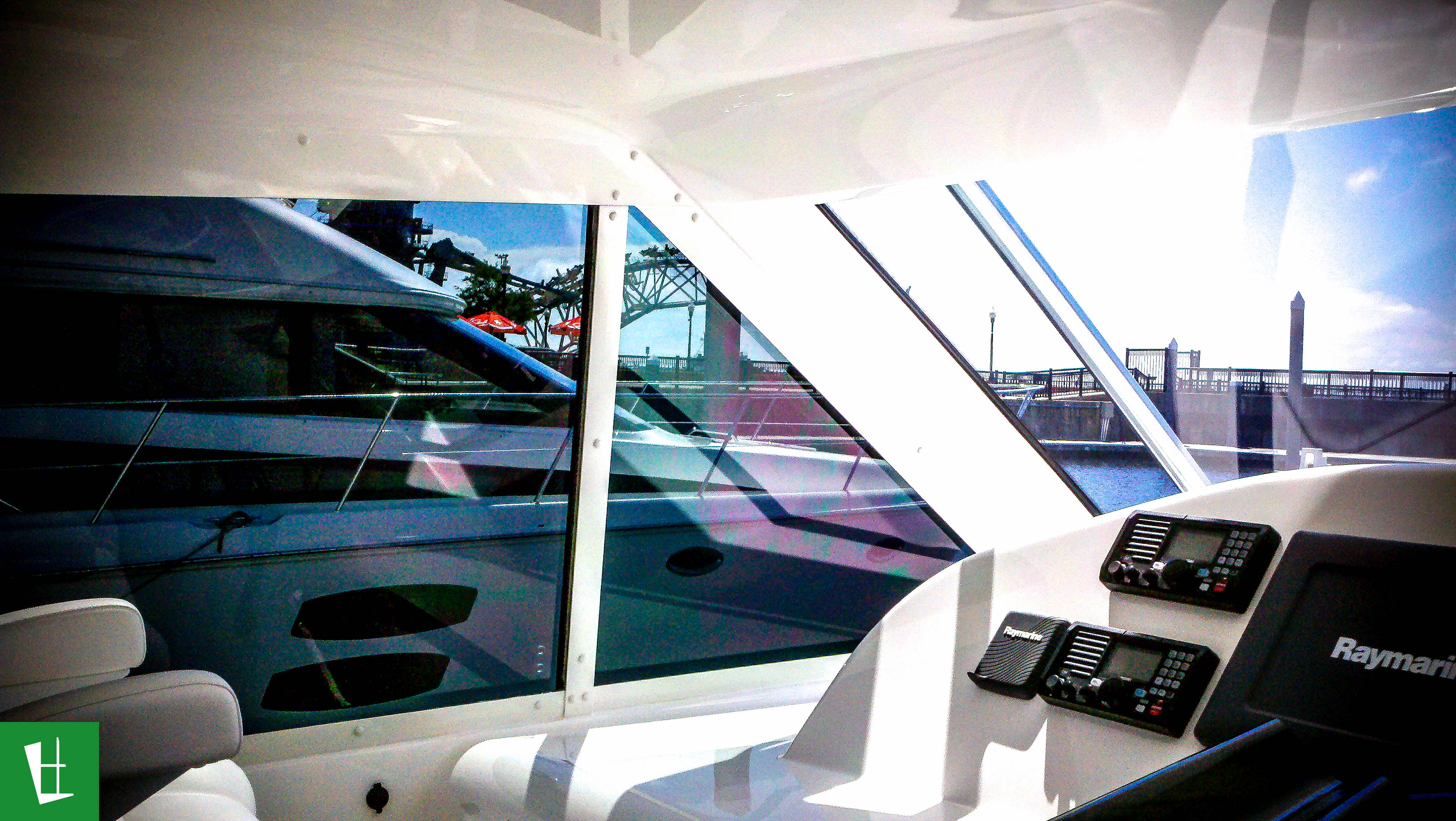 Cabo 44 Yacht Htx Hardtop Window Tinting