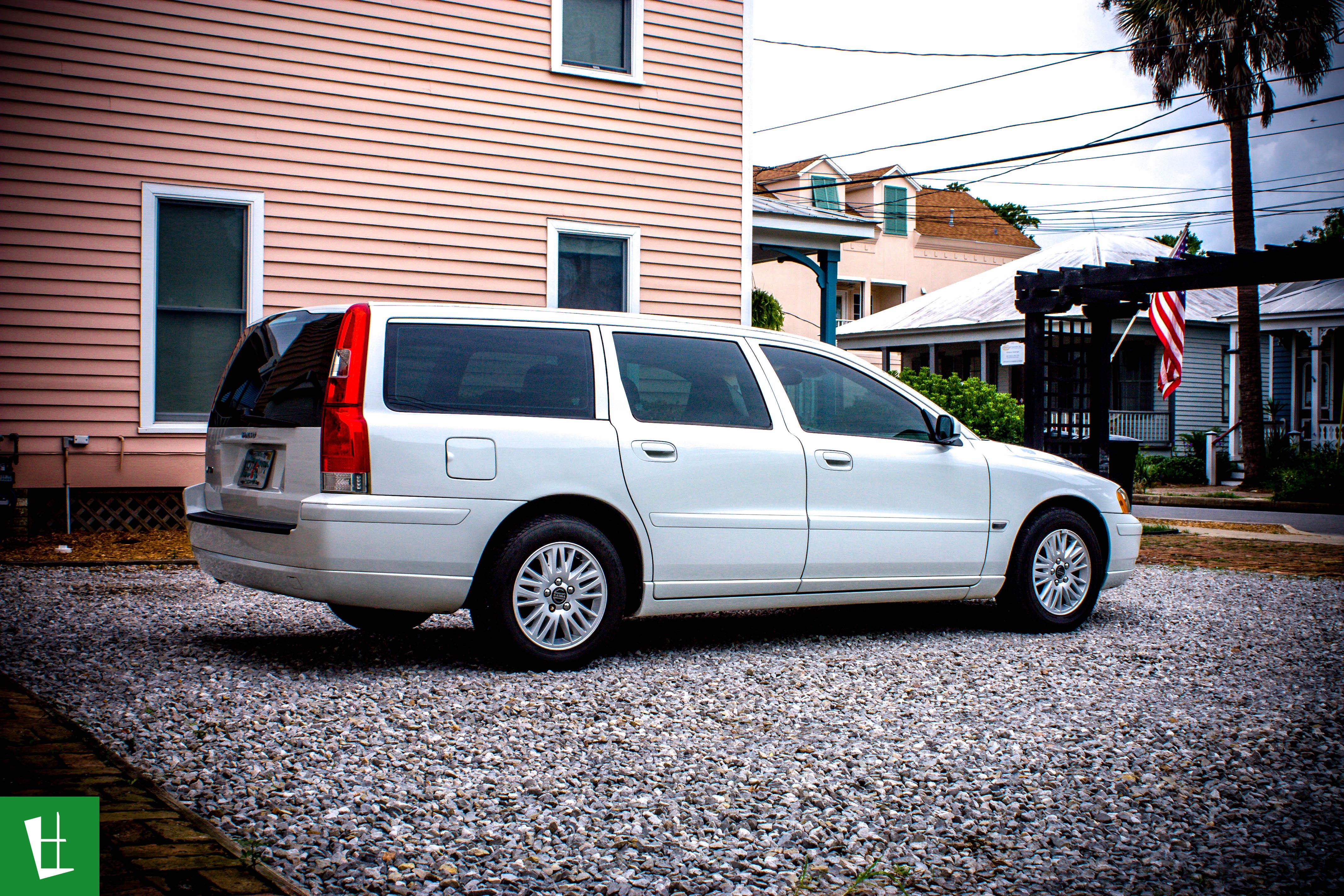 2005 Volvo V70 Wagon Window Tinting