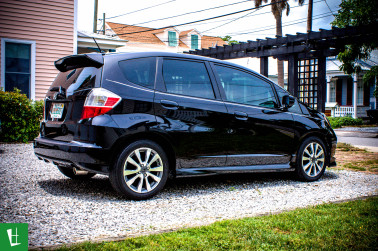2011 Honda Fit Window Tinting in Pensacola at Glass Wrap