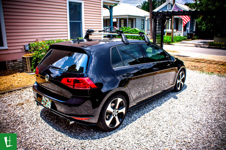 2014 VW GTI Window Tinting in Pensacola