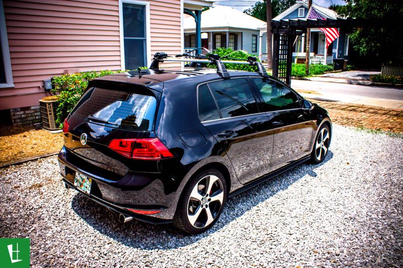 2014 VW GTI Window Tinting in Pensacola
