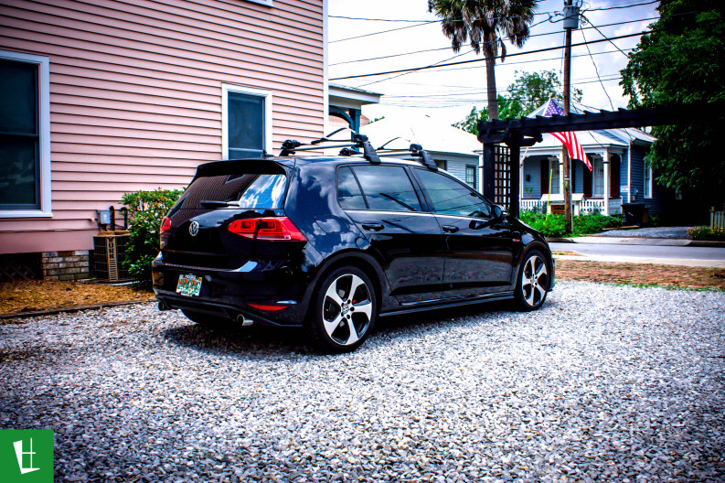 2014 VW GTI Window Tinting in Pensacola (2)