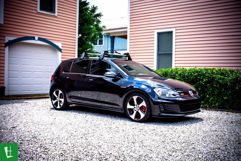 2014 VW GTI Window Tinting in Pensacola (3)