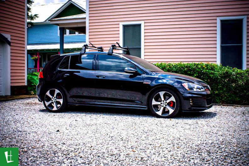 2014 VW GTI Window Tinting in Pensacola (4)
