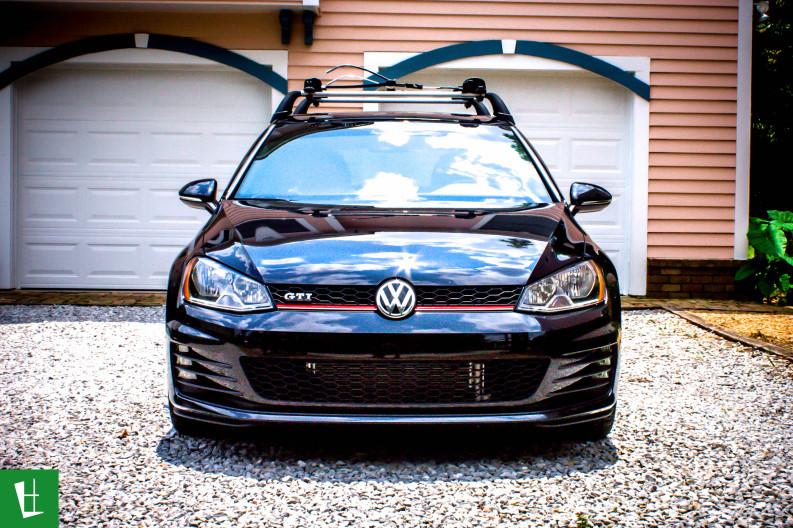 2014 VW GTI Window Tinting in Pensacola (5)