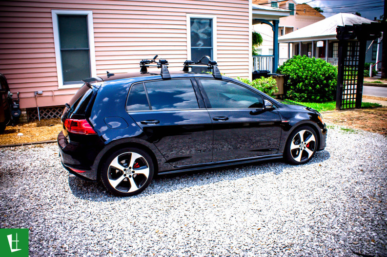 2014 VW Golf GTI Window Tinting in Pensacola (7)