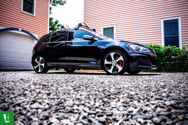 2014 VW Golf GTI Window Tinting in Pensacola