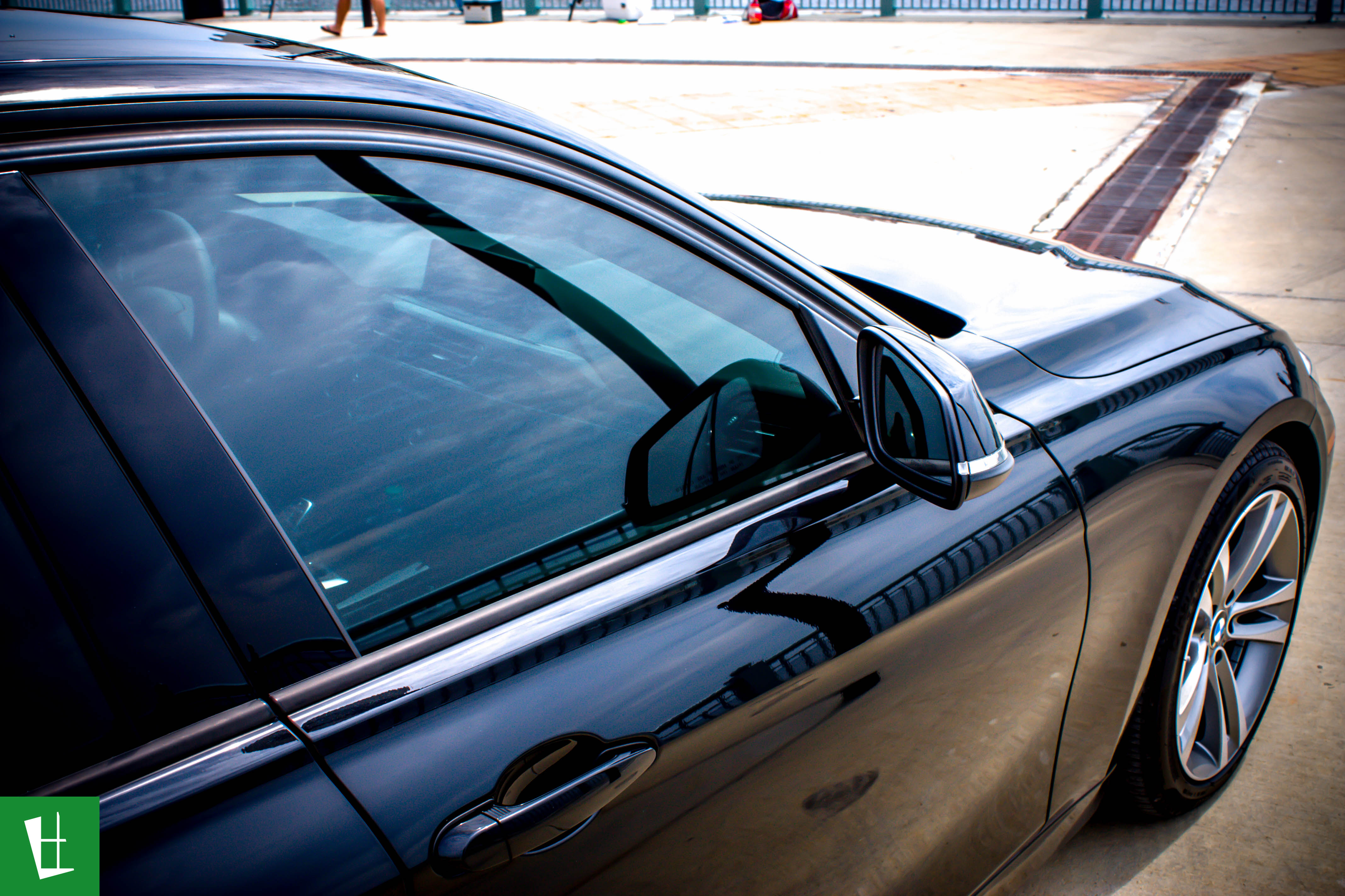 Glass wrap 2014 bmw 328d sedan window tinting 14 glass for 14 window tint
