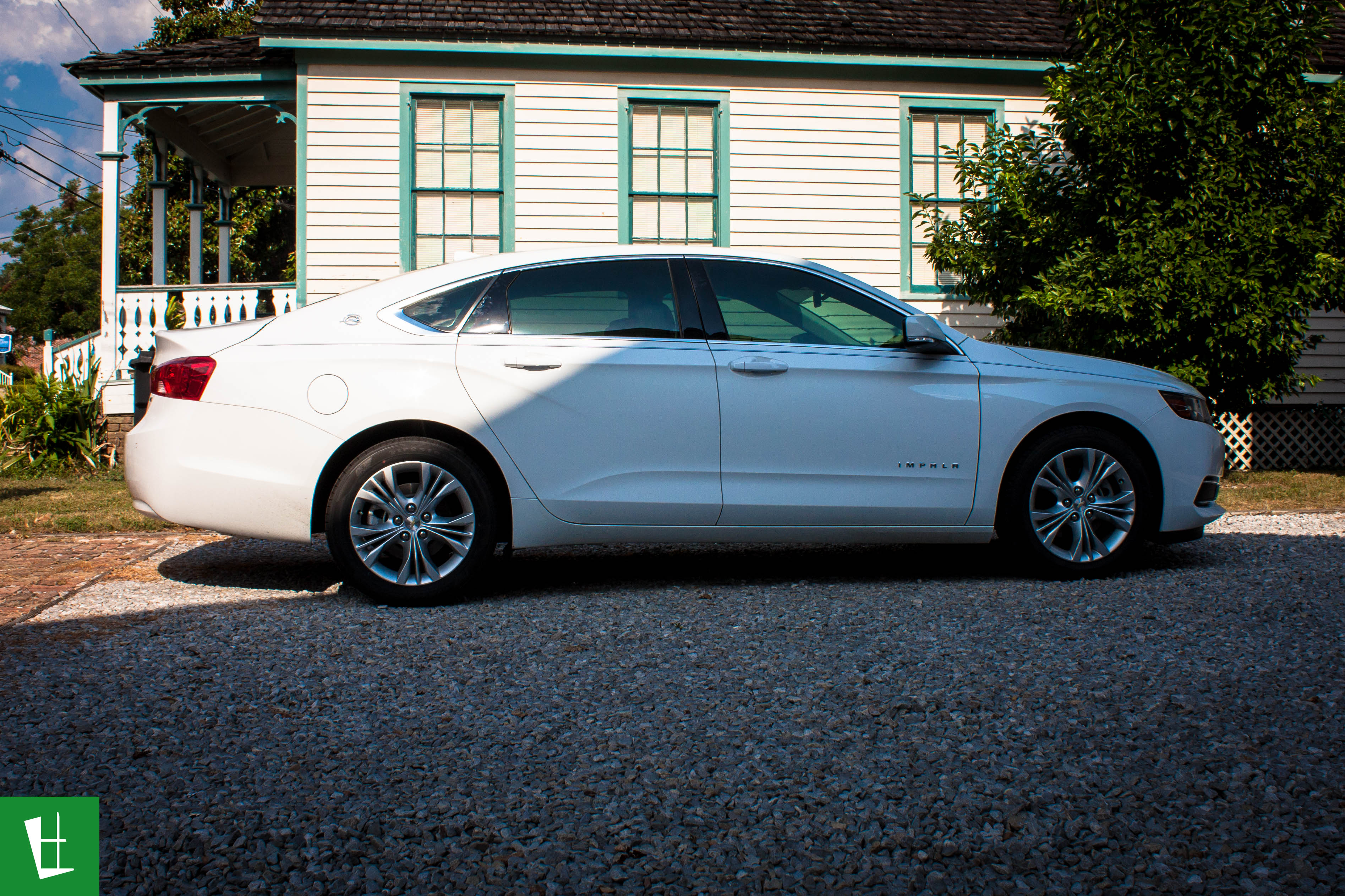 Glass Wrap 2014 Chevrolet Impala Window Tinting