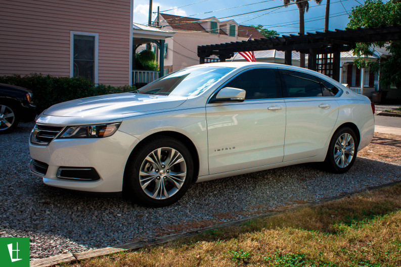 2014 Chevrolet Impala Window Tinting