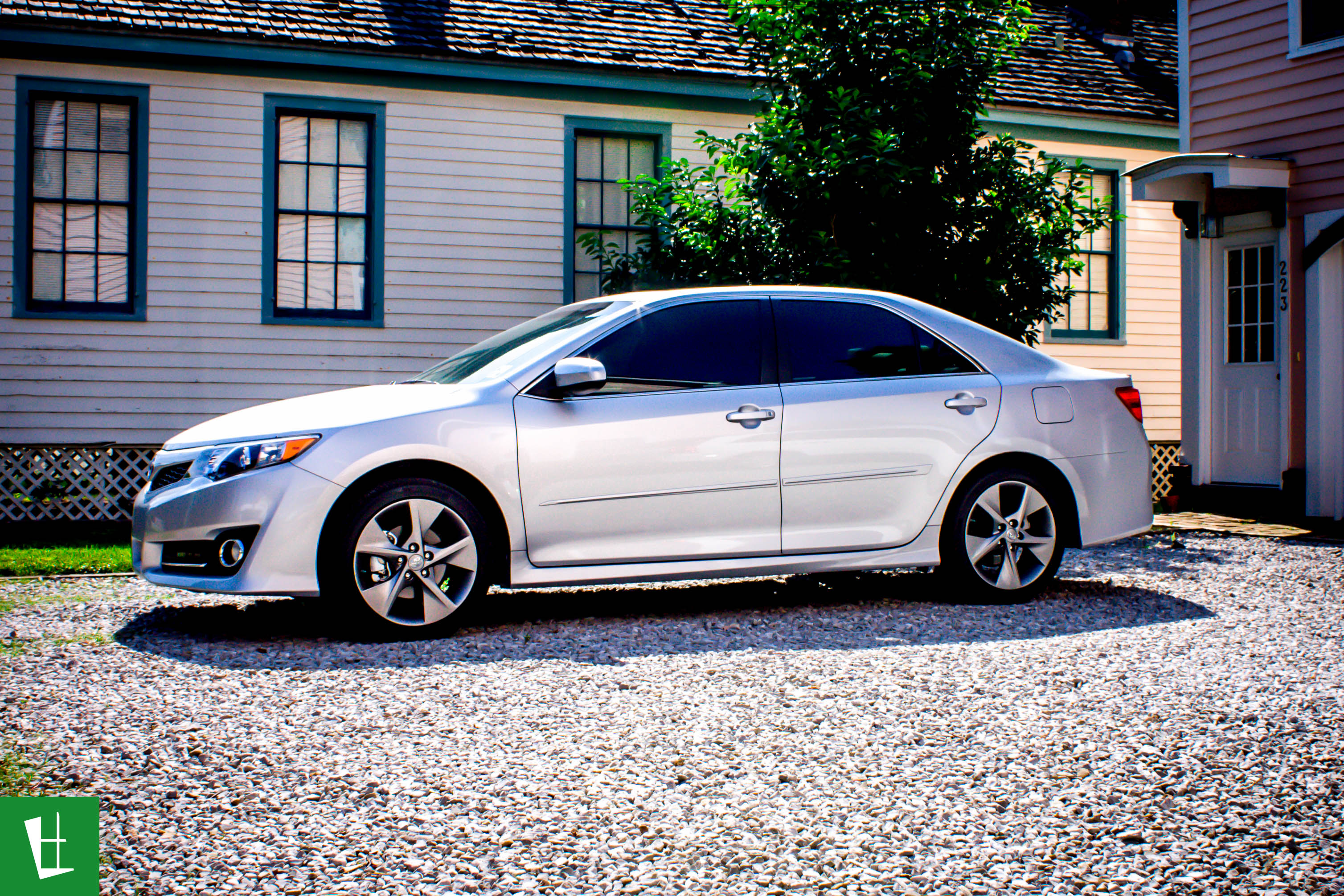 2014 Toyota Camry For Sale >> 2014 Toyota Camry SE Window Tinting