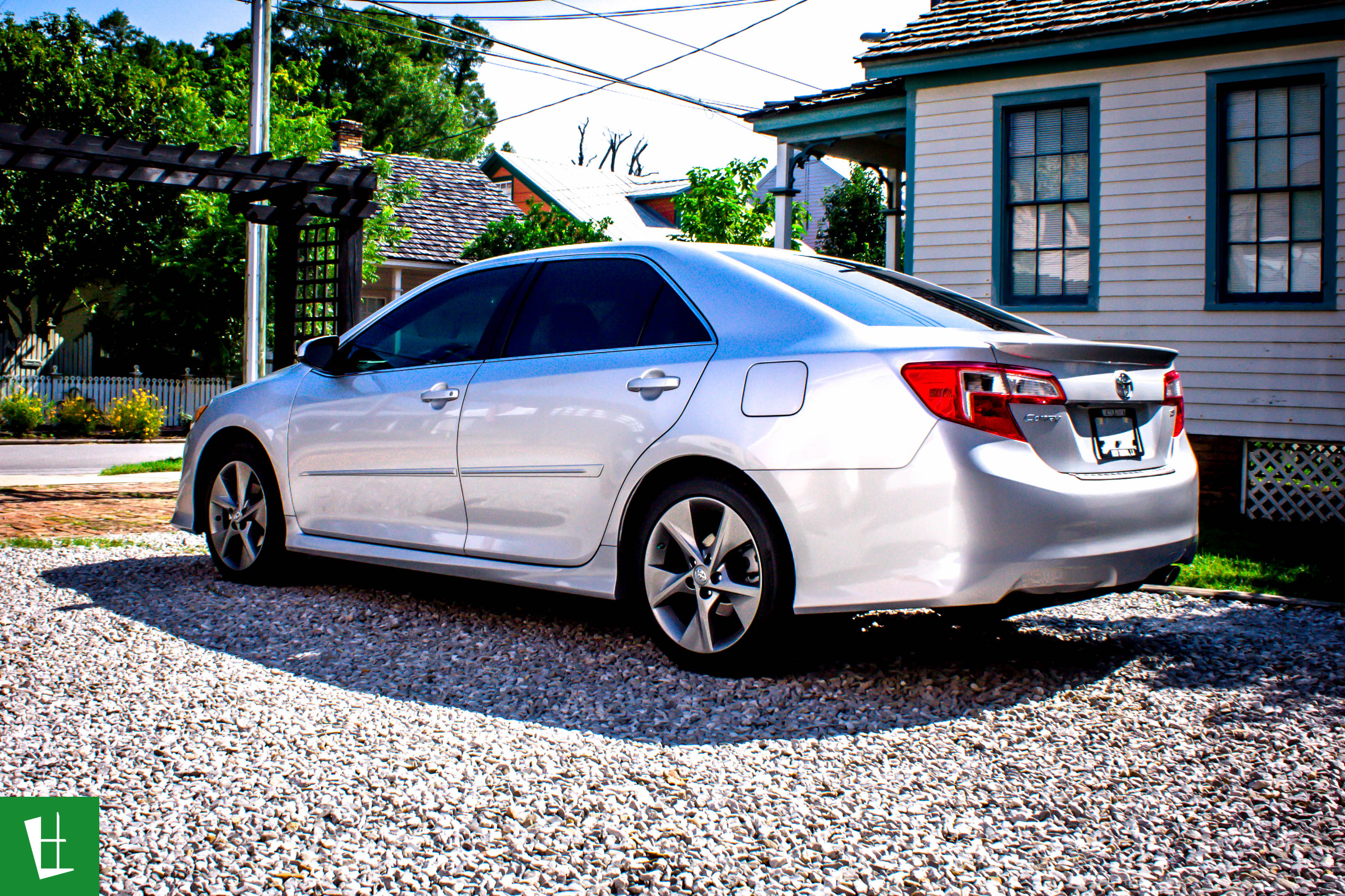 2014 toyota camry se window tinting. Black Bedroom Furniture Sets. Home Design Ideas