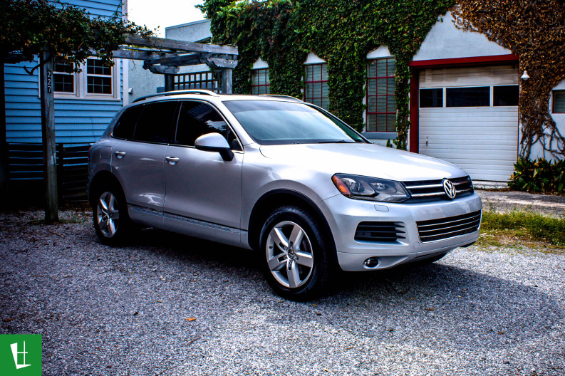 2012 VW Touareg Window Tinting