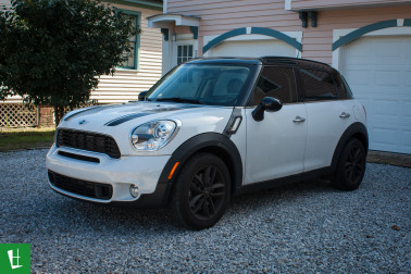 2011 Mini Countryman Window Tinting