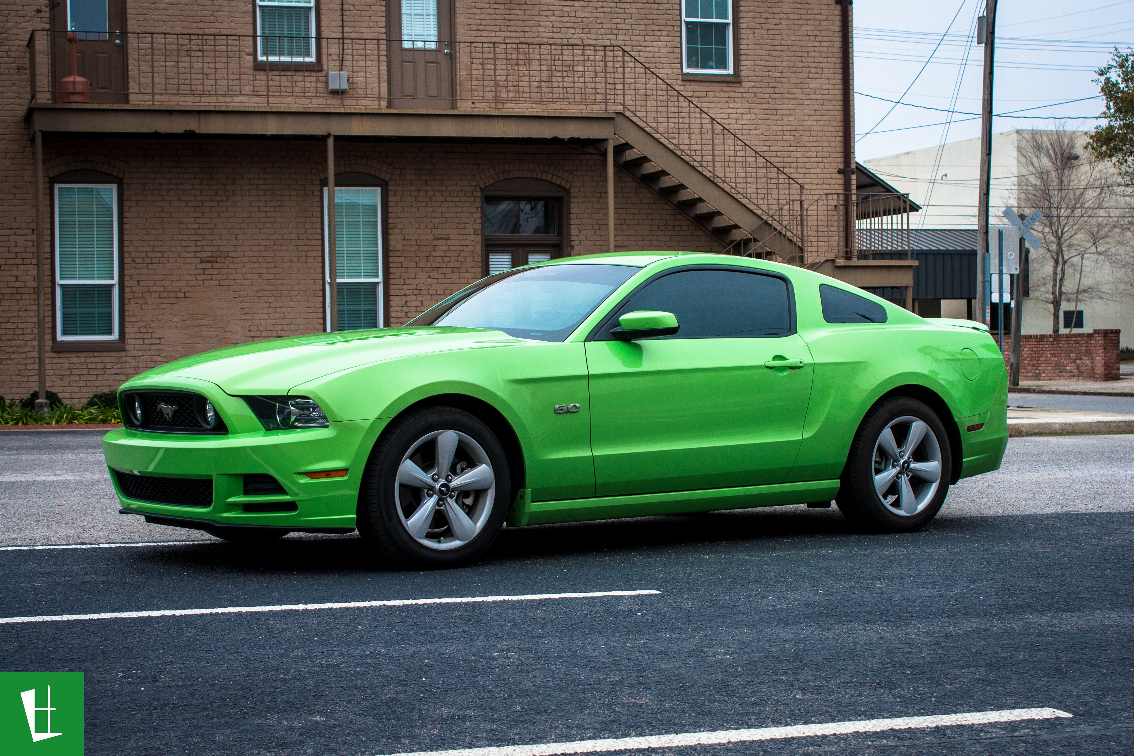 Glass Wrap 2014 Ford Mustang Window Tinting 5 Glass