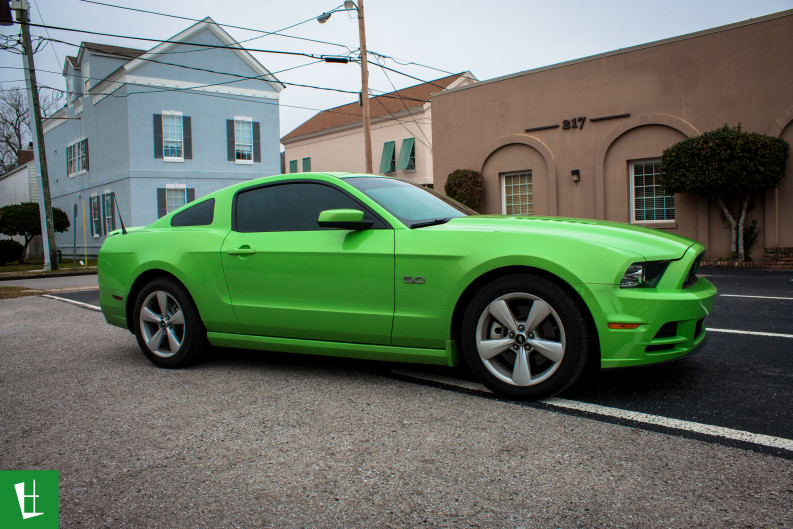 2014 Ford Mustang Gt Window Tinting Glass Wrap