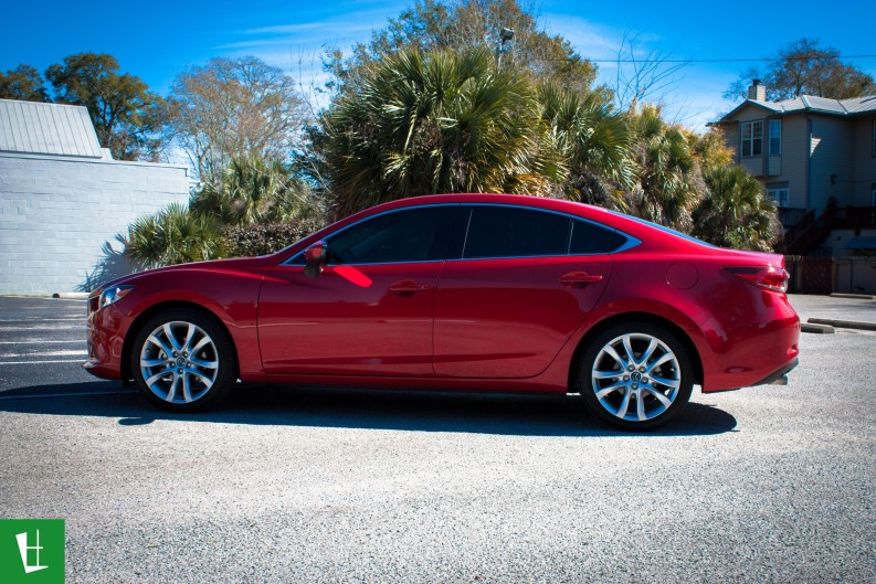 2015 Mazda 6 Sedan Window Tinting