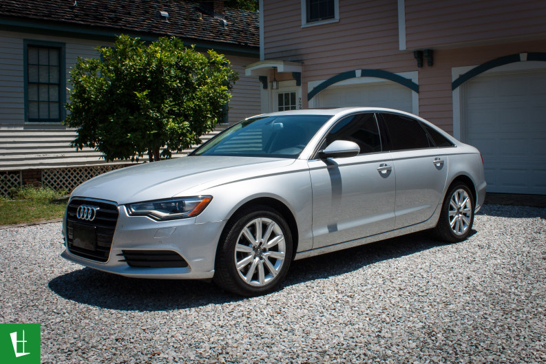 2014 Audi A6 Window Tinting