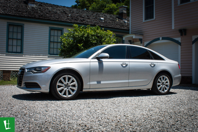 Solar Window Film >> 2014 Audi A6 Window Tinting