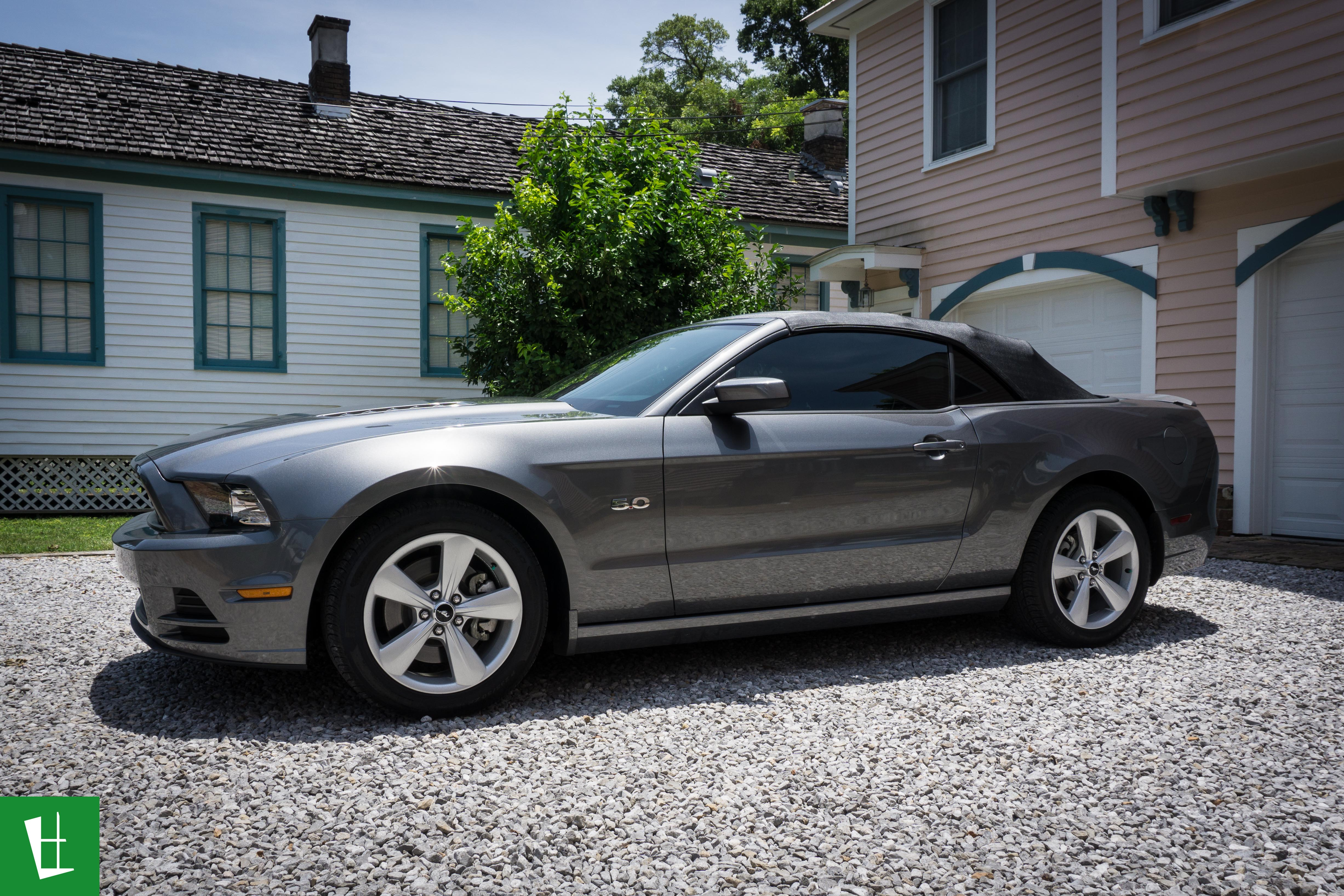 2014 Ford Mustang GT Convertible Window Tinting