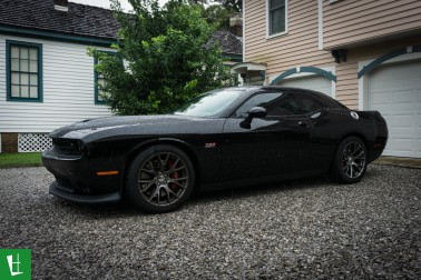 2015 Dodge Challenger SRT Window Tinting Pensacola-4