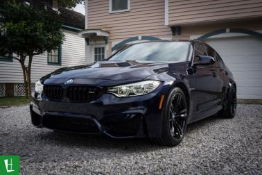 2016 BMW M3 Sedan Window Tinting-3