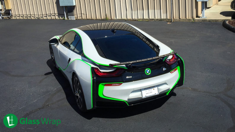 2017 BMW I8 Window Tinting